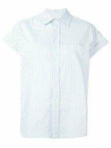 Golden Goose striped shortsleeved shirt - Blue