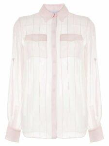 Gabriela Hearst stitched silk blouse - PINK