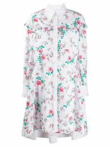 Philosophy Di Lorenzo Serafini ruffle trim floral print shirt dress -