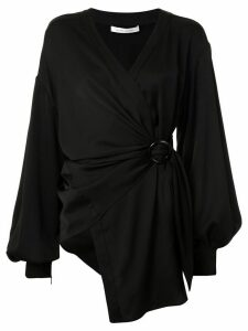 Rachel Gilbert Karo wrap blouse - Black