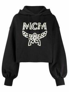 MCM logo-print oversized hoodie - Black