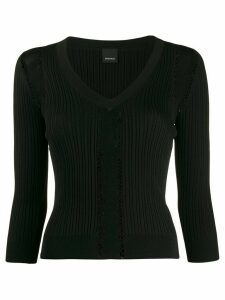 Pinko fitted knit top - Black