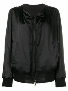 Ann Demeulemeester reversible bomber jacket - Black