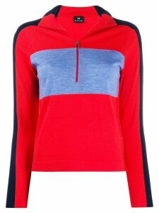 PS Paul Smith colour block jumper - Red