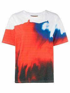 colville watercolour graphic print T-shirt - White