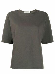 YMC crew neck cotton T-shirt - Grey