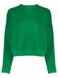 YMC relaxed-fit cotton sweatshirt - Green