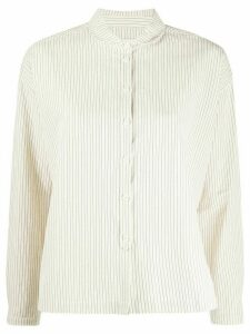 YMC striped shirt - NEUTRALS