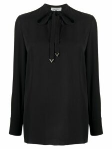 Valentino pussy-bow blouse - Black