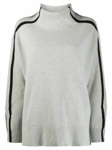 Tommy Hilfiger mock neck jumper - Grey