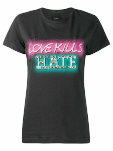 Pinko Love Kills Hate T-shirt - Black