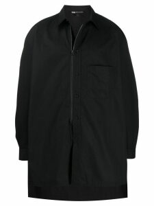 Y-3 Craft long-sleeve shirt jacket - Black