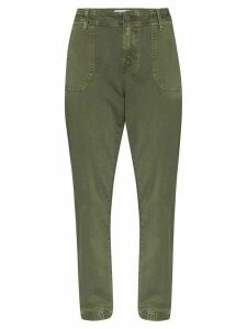 PAIGE Mayslie cargo trousers - 105 - Green: W6338