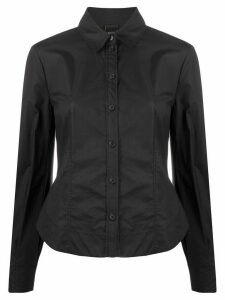 Pinko long-sleeved fitted shirt - Black