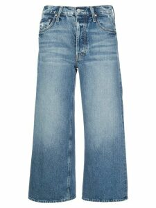 Mother Tomcat cropped straight-leg jeans - Blue