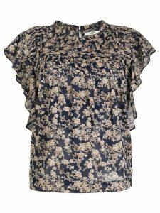 Isabel Marant Étoile Layona floral print blouse - Blue