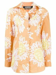 Jacquemus La Chemise Valensole shirt - ORANGE