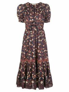 Ulla Johnson Zaria floral-print dress - Blue