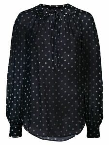 Polo Ralph Lauren polka dot print blouse - Blue