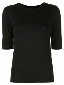 FRAME Le Mid Rise 70s T-shirt - Black