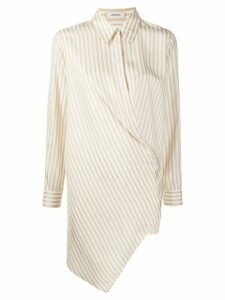 Dorothee Schumacher gathered waist shirt - NEUTRALS