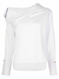 Hellessy Stella asymmetric blouse - White