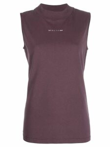 1017 ALYX 9SM rear-print tank top - PURPLE