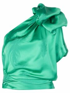 Hellessy Artemsia one-shoulder blouse - Green