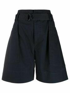 Isabel Marant Étoile Zayna wide leg shorts - Black