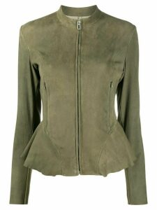 Drome zipped-up jacket - Green