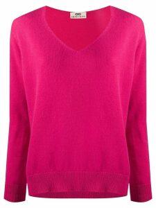 Sminfinity v neck cashmere jumper - PINK