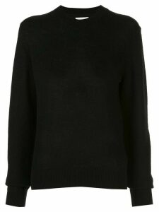 Khaite mock neck jumper - Black