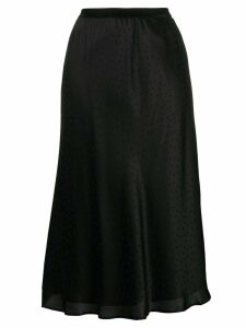 Mes Demoiselles polka-dot print skirt - Black
