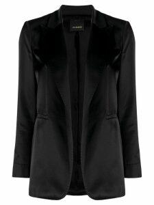 Pinko single-breasted slim-fit blazer - Black