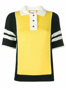 Plan C athletic t-shirt - Yellow
