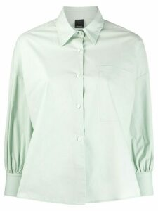 Pinko boxy-fit long-sleeved shirt - Green