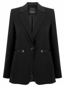 Pinko one-button blazer - Black