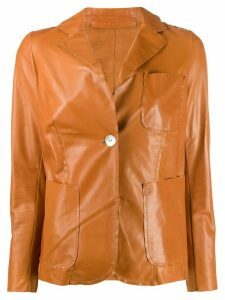 Salvatore Santoro fitted tailored jacket - Brown