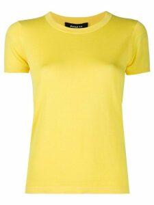 Paule Ka crew neck T-shirt - Yellow