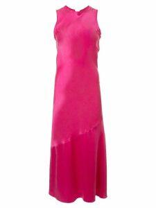 Rebecca Vallance Sophia silk midi dress - PINK