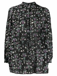 Isabel Marant Étoile abstract print shirt - Black