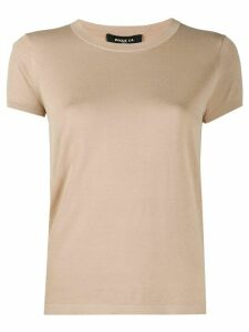 Paule Ka crew neck T-shirt - NEUTRALS