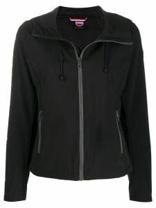 Colmar hooded fitted jacket - Black
