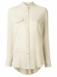 Ginger & Smart Chateau striped shirt - NEUTRALS