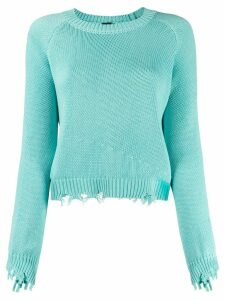 Pinko distressed jumper - Green