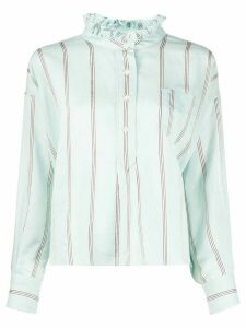 Isabel Marant Étoile Olena striped print shirt - Blue