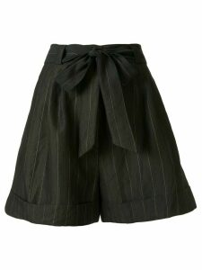 Ginger & Smart Admiral striped shorts - Black