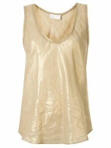 Ginger & Smart Glorious metallized tank top - Metallic
