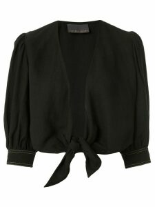 Ginger & Smart Memoir cropped blouse - Black
