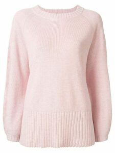 Manning Cartell relaxed-fit raglan-sleeves jumper - PINK